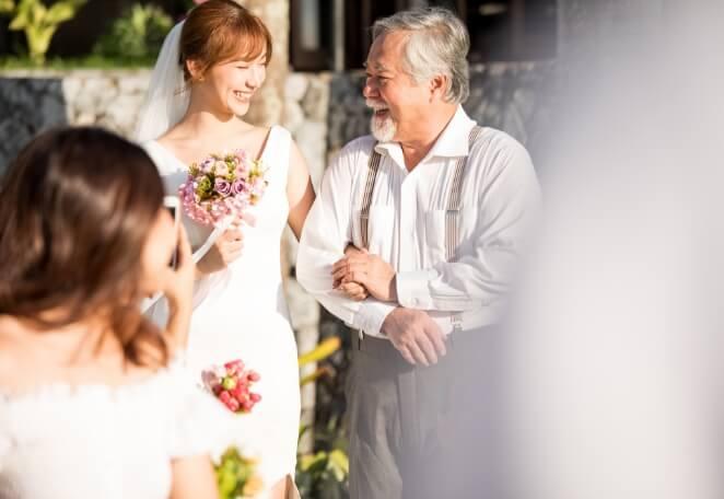 結婚式のご出席